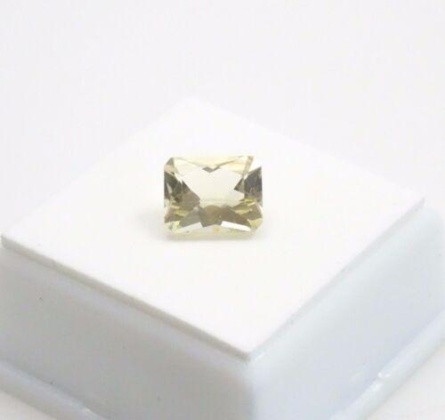 Yellow Scapolite - 2.90ct - Emerald Cut - 10x8mm - Loose Gemstone