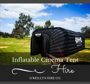 Giant Inflatable Movie Cinema Tent Hire Perth - O'Reilly's Hire Co. Kelmscott Armadale Area Preview