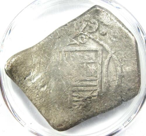 1679-MO L Mexico Cob 8 Reales Coin (8R) - Certified PCGS VF Details - Rare!