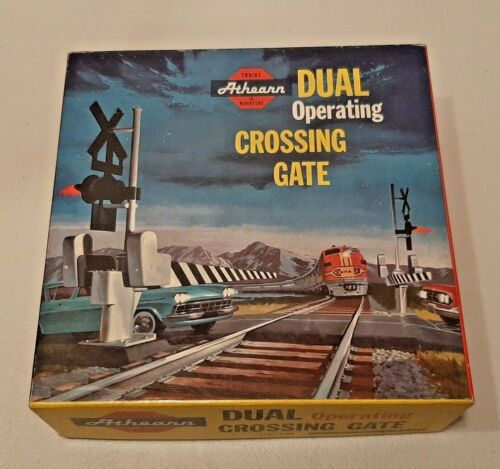 Vintage HO Athearn Dual Operating Crossing Gate; 3185-2:98; Box Only.