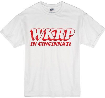 Wkrp In Cincinnati Radio Tv Show T Shirt  Youth And Adult Sizes Available