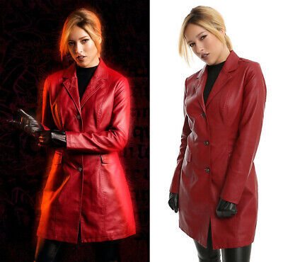 Buffy the Vampire Slayer 20th Anniversary Costume Replica Red Jacket Trench
