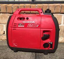 Honda EU inverter 20i 2kva portable generator Beerwah Caloundra Area Preview