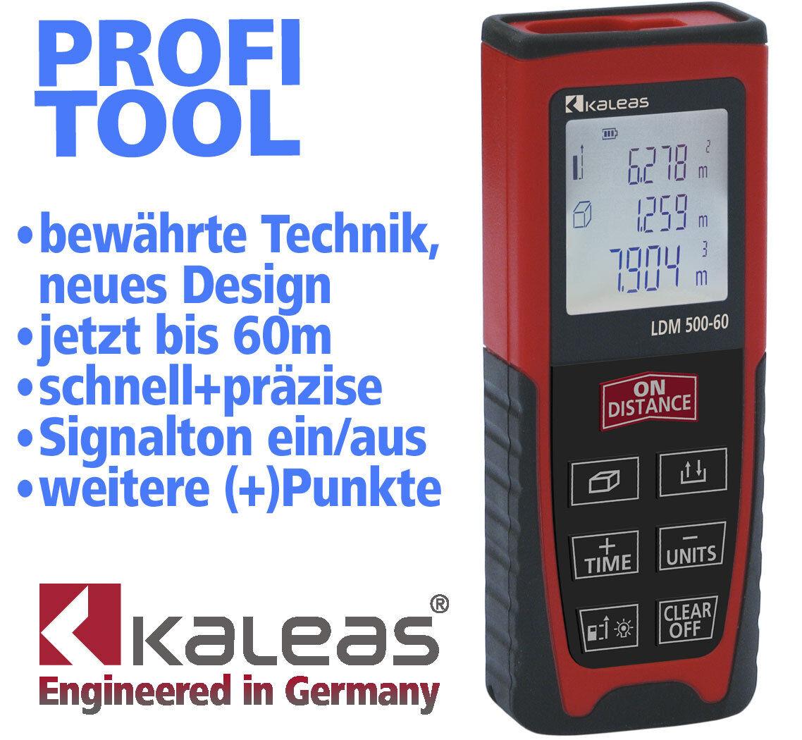 Лазерный измерительный инструмент kaleas ldm 500-60 laser