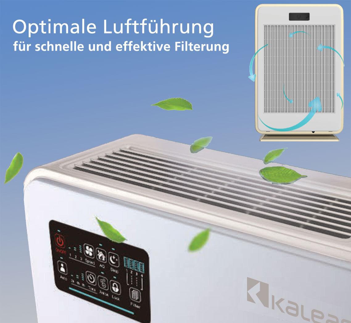kaleas apf 40 air purifier luftreiniger ionisierer mit aktivkohle hepa filter eur 199 00. Black Bedroom Furniture Sets. Home Design Ideas