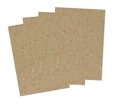 10 Bogen GRAUPAPPE, Naturpapier Karton 225 g/m² Größe DIN A4, recycled 2097