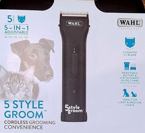 Wahl 5 Style Groom Pet Grooming Clipper