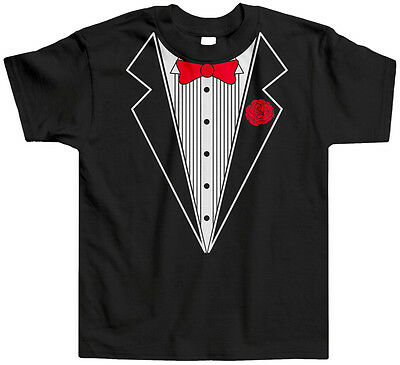 Funny Toddler Costume (Tuxedo Toddler T-Shirt Tee Tux Costume Faux Fake Classy Fancy Funny)