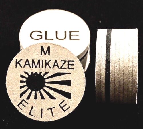 NEW....Kamikaze ELITE Layered Cue Tips  14 MM  (MED) (3 Tips)  Fast Shipping.
