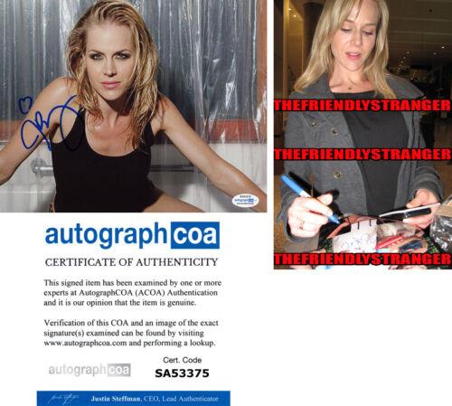 JULIE BENZ signed Autographed 8X10 PHOTO L PROOF - Hot SEXY Dexter ACOA COA