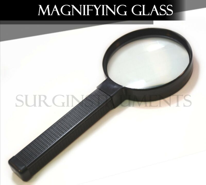 "Magnifying Glass 2"" 3x Jewelry & Watches Optical Magnifier Tool"