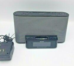 Sony Ipod Dock/AM/FM Radio/Alarm Clock ICF-CS10iP Dream Machine (No Remote)