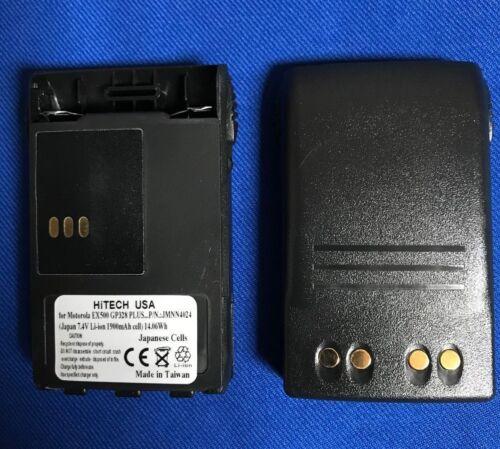 10 of Motorola#JMNN4024 EX500/EX600XLS/GL2000/GP688...*Japan Liion 2.4Ah Battery