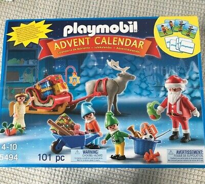 Brand New Playmobil 5494 Advent Calendar Santa's Workshop