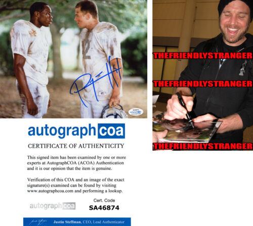 "RYAN HURST signed ""REMEMBER THE TITANS"" 8X10 Photo PROOF Gerry Bertier ACOA COA"