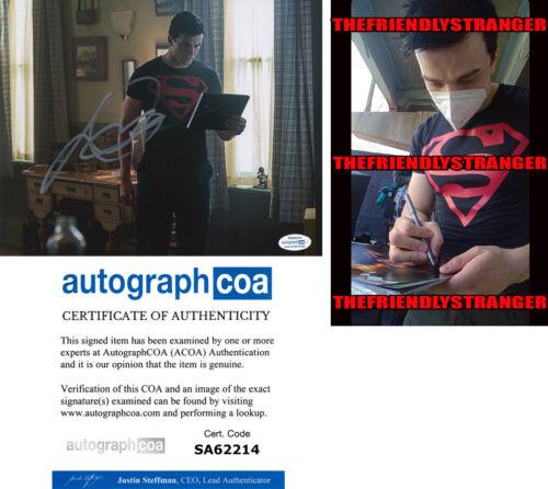 """JOSHUA ORPIN signed """"TITANS"""" 8X10 PHOTO d PROOF - SUPERBOY Conner Kent ACOA COA"""