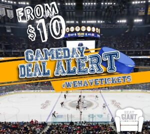 BUFFALO SABRES TICKETS TONIGHT FROM $10 CAD!!!
