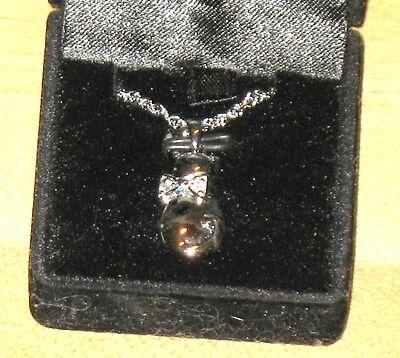 Lk Sterling Silver Cat Pendant