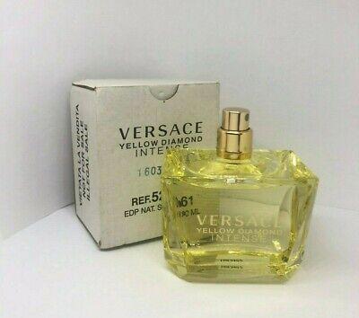 VERSACE YELLOW DIAMOND INTENSE Perfume 3.0 OZ Women Eau De Parfum New.