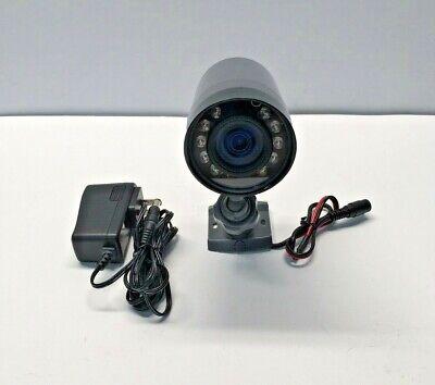 VIVINT VS-HDW400-110 Wireless Wide Angle Night Vision Waterproof Camera, Grey