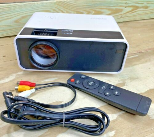 Mini Projector CiBest Video Outdoor Movie LED 1080P Portable Home Theater Cinema