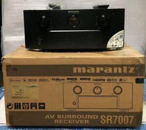 MARANTZ SR7007 7.2 CHANNEL NETWORK AUDIO SURROUND SOUND RECEIVER 4K 3D
