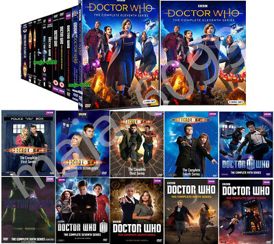 Doctor Who - Complete Series Season 1-11 (DVD, 58 Disc Set) Fast USPS Priority