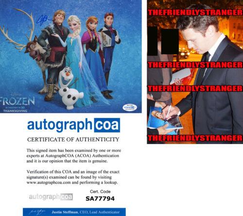 "JONATHAN GROFF signed Autographed ""FROZEN"" 8X10 PHOTO - PROOF Kristoff ACOA COA"