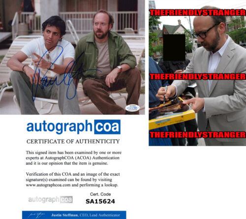 PAUL GIAMATTI signed Autographed 8X10 PHOTO - PROOF - SIDEWAYS Billions ACOA COA