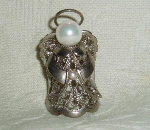 "Russian Сollectible Decorative Metal alloy Thimble ""Angel"" Filigree"