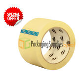 """36 ROLLS of PSBM Brand Sealing Packing Packaging Tape 2"""" x 110 Yards (330 ft)"""