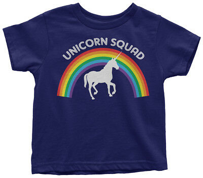 Unicorn Squad Toddler T-Shirt Rainbow Birthday Theme Gift Idea - Birthday Themes Ideas