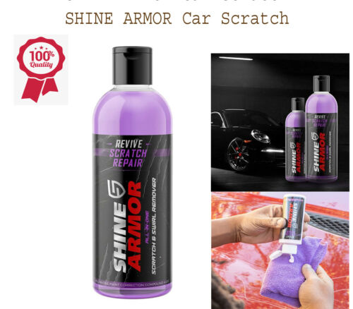 SHINE ARMOR Remover Scratch Swirl Remover polish revive Repair Protection US