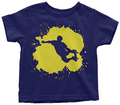 Skateboarder Splatter Toddler T-Shirt Cool Birthday Party Gift Idea - Cool Birthday Ideas