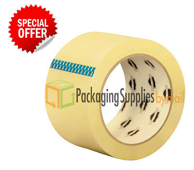 "36 Rolls Carton Sealing Clear Packing Shipping Box Tape 2"" x 110 Yards"