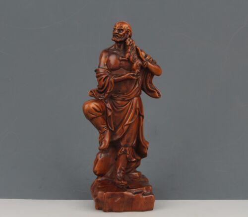Weight 1.240 kg Beautiful Decorative Thai Buddhist Monk Resin Statue