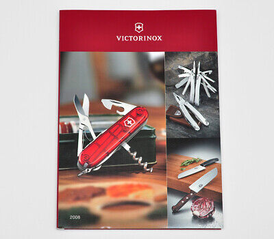 VINTAGE VICTORINOX SWISS ARMY KNIVES GENERAL CATALOG 2008 X.90088.0