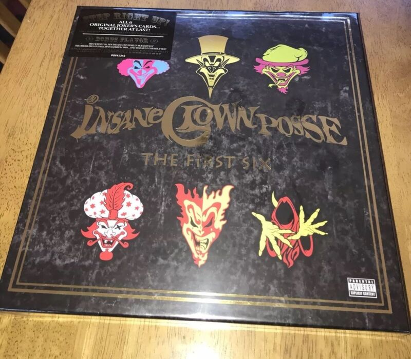 INSANE CLOWN POSSE FIRST 6 BOX SET NEW SEALED GREAT FOR COLLECTOR