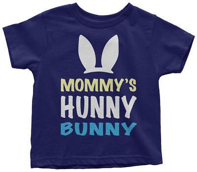 Mommy's Hunny Bunny Toddler T-Shirt Cute Easter Basket Egg Hunt Gift - Toddler Easter Basket