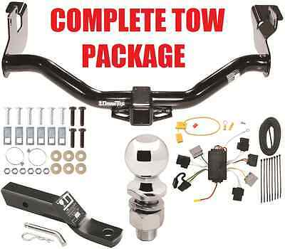 2005-06 MAZDA TRIBUTE COMPLETE TRAILER RECEIVER TOW HITCH PACKAGE W/ WIRING KIT ()
