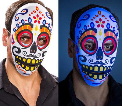 Tag der Toten Maske mit gelben Zähnen Herr Day of the Dead Mexiko (Der Tag Der Toten Maske)