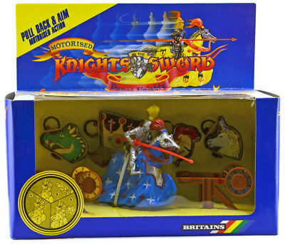 Britains Deetail # 7759 - Power Knight Target Set - mint-in-box - colors vary