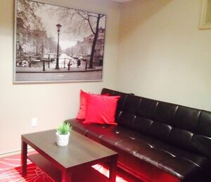 Legal Fully Furnished Suite With Separate Entrance!