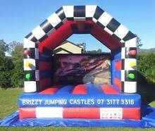 Racing Cars 4mtr x 4mtr Jumping Castle for Hire Brisbane Brisbane City Brisbane North West Preview