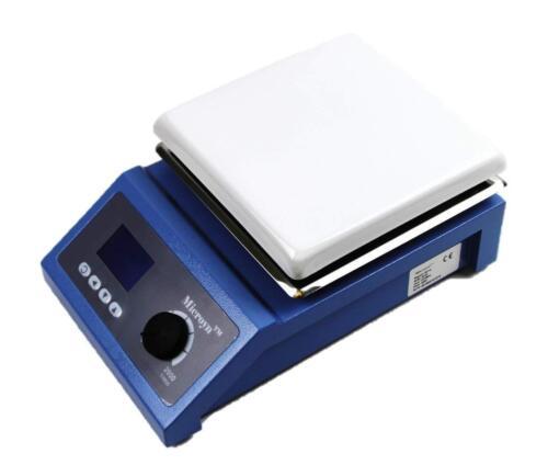 Digital Laboratory Magnetic Stirrer Hotplate,  ~7x7 inch, 600W, 0-1600rpm, 110V