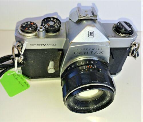 PENTAX Spotmatic,  Lens 55mm f1.8