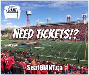 CALGARY STAMPEDERS PLAYOFF TICKETS FROM $25!!!