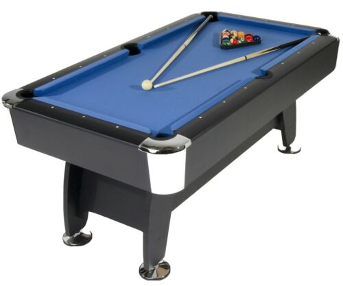 Phoenix Pro American 6ft Blue pool table (with balls, cues, accessories)