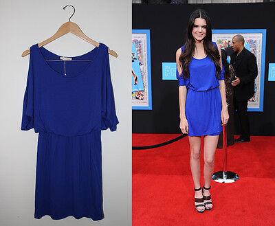 Kendall Jenner Blue Slit Sleeve Dress From The Kardashians Ebay Auction