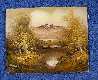 Original Stretched Canvas Oil Painting Landscape 8